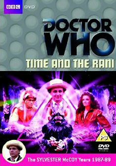 Doctor Who - Time and the Rani [DVD] [1987] Sylvester McCoy as Dr Who  BRAND NEW