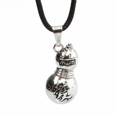 Anime Naruto Gaara Gourd Silver Alloy Pendant Necklace Charm Jewelry cosplay AAA