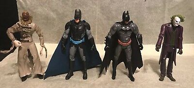 Dc Comics Batman  Lot Of 4 Figures Nice Figures Most Look Wow!