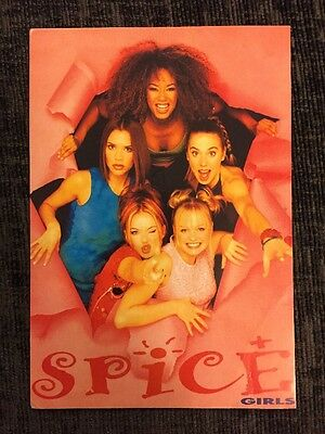 Spice Girls Postcard From 1996