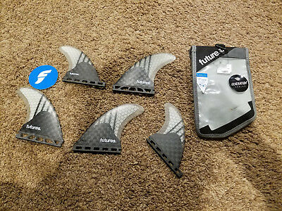 FUTURES V2F6 GENERATION SERIES 5 FIN set. LARGE. used only a few times