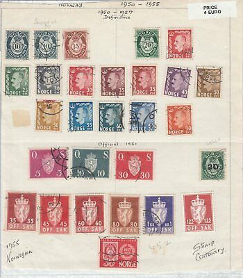 147 Selection Of Stamps Norway