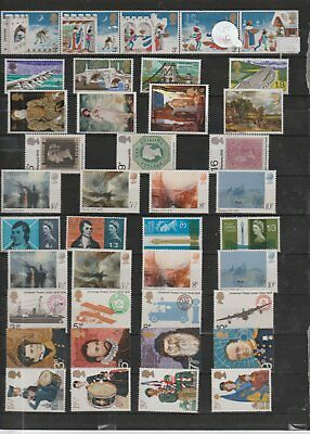148 Selection Of Stamps Uk