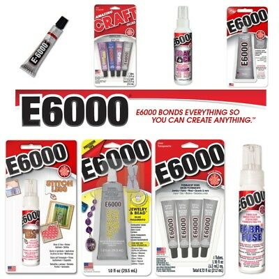 E6000 Industrial Strength Glue Jewellery Rhinestone