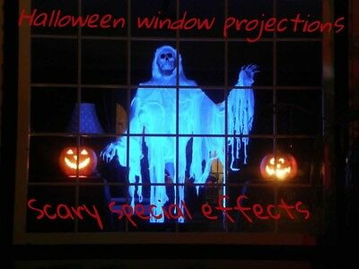 Halloween Digital MP4 Special Effects projector hologram Phantasms FX