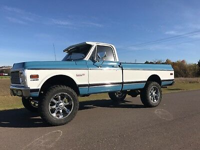1970 Chevrolet C-10  **1970 CHEVROLET CHEYENNE K-20 4X4 V8 454 LIFTED LOW MILES LIKE NEW NO REERVE