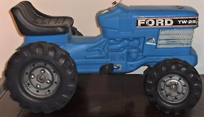 TRI-ANG  FALK Ford tractor pedal car  old shop stock unused 1970s