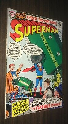 SUPERMAN #182 -- December 1965 -- TOYMAN -- VG- Or Better