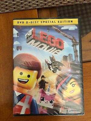 THE LEGO MOVIE 2-Disc Set Special Edition DVD, (Brand New, factory sealed)