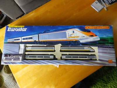 Hornby Eurostar Class 373, HO Scale train set complete and boxed
