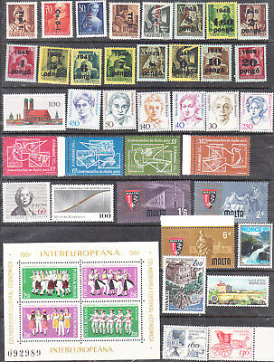 Collections Of  Sets&singles   Mnh Vf