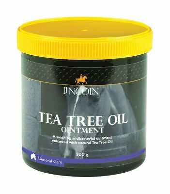 Lincoln Tea Tree Oil Ointment for Horses & Ponies - 500g 4483