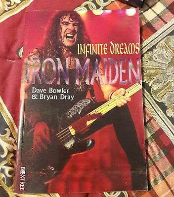 Iron maiden book  rare bio