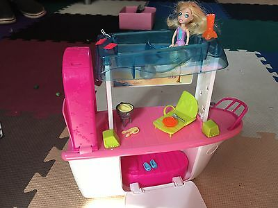 Polly pocket Party boat plus doll