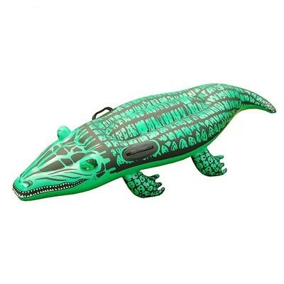 Giant Gator Raft Kids Ride On Inflatable Swimming Pool Float Water Beach Toy