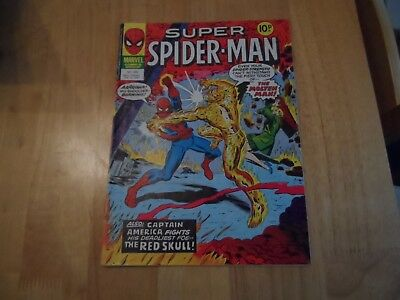 SUPER SPIDER-MAN Comic - No 262 - date 15/02/1978 - Marvel Comic  good used cond