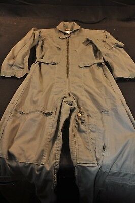 Coveralls Flyer's Summer Fire Resistant 34S Flight Suit CWU-27/P Sage Green A103