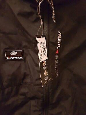land rover experience musto evolution soft shell black gilet womans size 16