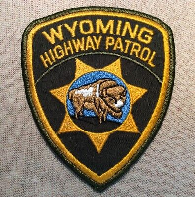 WY Wyoming Highway Patrol Patch