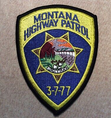 MT Montana Highway Patrol Patch (New)