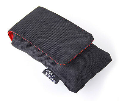 Black Cushioned Case / Pouch For Beurer PM 70,