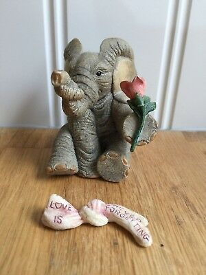 Beautiful Tuskers Elephants Love Is... Never Forgetting 91062