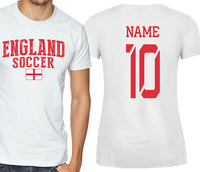 England T-shirt Soccer Jersey any Sports Add Any Name /& Number men/'s adults