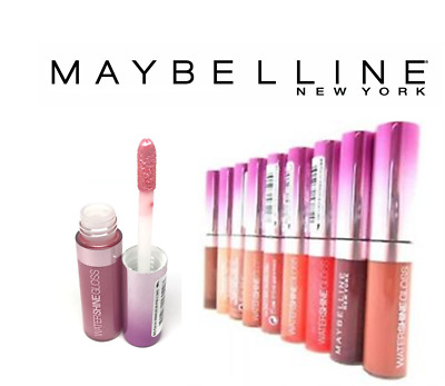Maybelline Water Shine Gloss Lip Gloss **choose Colour**