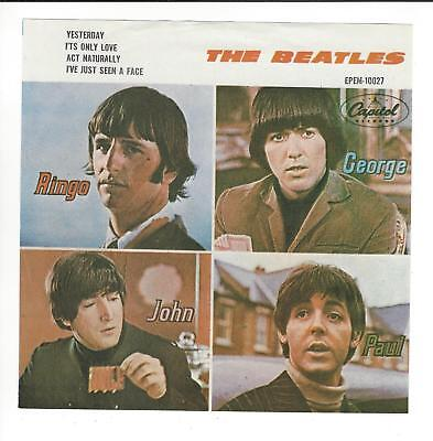 Beatles  Mexican Issued 7'' Picture Sleeve Ep  In  Vg+/ex  Con