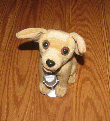 "Musical Singing TACO BELL Chihuahua 6"" Plush Dog Puppy Toy Stuffed"