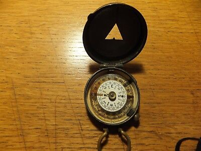 WW1 Officers Verner's Prismatic Compass Dated 1918 S Mordan & Co