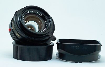LEICA M SUMMICRON Mk.4 KING of BOKEH 35mm f2 LENS - MADE in GERMANY 6 BIT