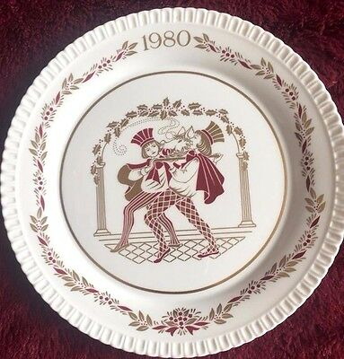 Spode Christmas Plate 1980 Boxed