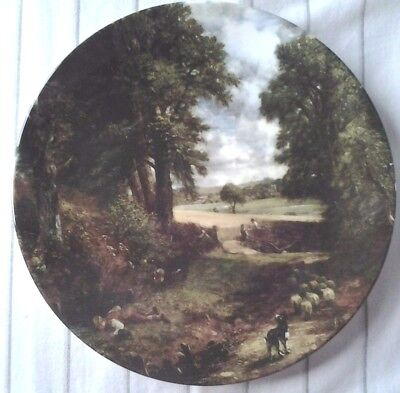 Royal Doulton The Cornfield Plate Constable Country English Countryside Boxed