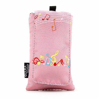 Pink Cushioned Case / Pouch For Samsung Charm