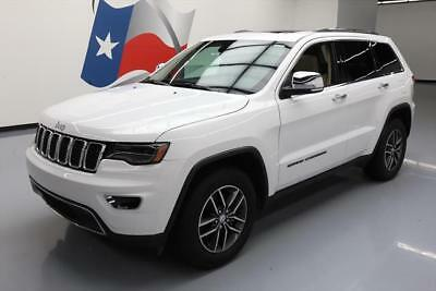 2017 Jeep Grand Cherokee Limited Sport Utility 4-Door 2017 JEEP GRAND CHEROKEE LTD PANO ROOF NAV REAR CAM 12K #790612 Texas Direct