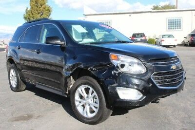 2017 Chevrolet Equinox LT 2017 Chevrolet Equinox LT Wrecked Salvage Repairable Perfect Project Wont Last!