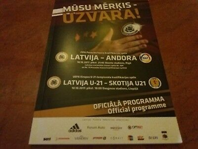 Latvia U 21 vs Scotland U-21