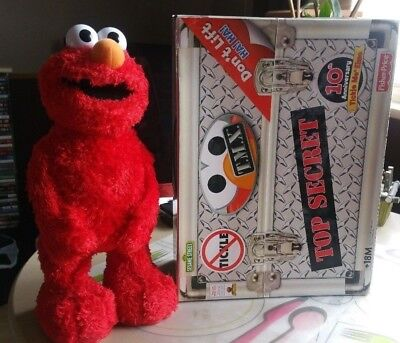 Tickle Me Elmo Tmx 10Th Anniversary Sesame Street Toy Laughing Rolls Boxed 2005