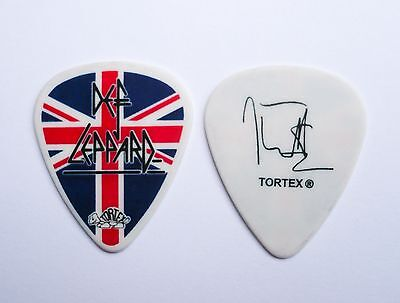 Def Leppard Guitar Pick! Joe Elliott Union Jack Guitar Pick!