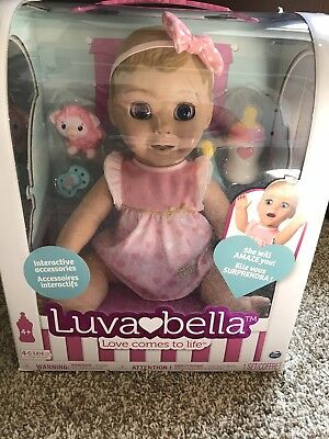 Luvabella Blonde Baby Girl Doll - FAST SHIP - 100% AUTHENTIC - BRAND NEW