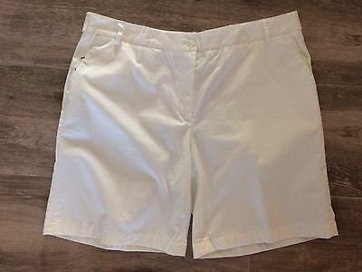 Burberry Golf White Shorts Size 16