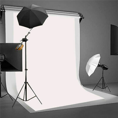 White Thin Vinyl Photography Backdrop Background Cloth Studio Photo Props 3x5ft