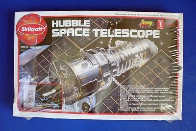 Skilcraft HUBBLE SPACE TELESCOPE Snap Fit MODEL KIT 74638 FACTORY SEALED '95 USA