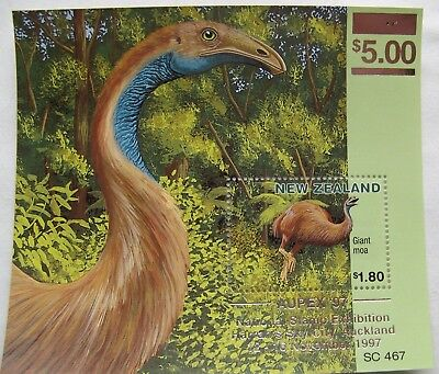 New Zealand Miniature Sheet AUPEX '97
