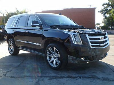 2015 Cadillac Escalade Premium 4WD 2015 Cadillac Escalade Premium 4WD Wrecked Salvage Loaded w Options Luxurious!