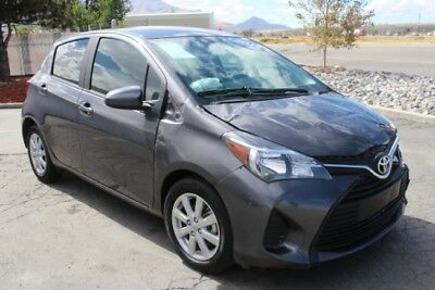 2015 Toyota Yaris LE 2015 Toyota Yaris LE Damaged Salvage Perfect Gas Saver Priced to Sell Wont Last!