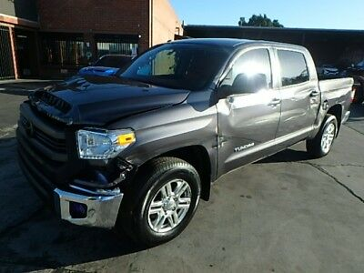 2016 Toyota Tundra SR5 CrewMax 2016 Toyota Tundra SR5 CrewMax Damaged Wrecked Repairable! Priced To Sell! L@@K!