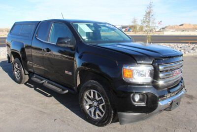 2016 GMC Canyon SLE Ext 4WD 2016 GMC Canyon SLE Ext Cab 4WD Crashed Clean Title Loaded w Options Nice Fixer!
