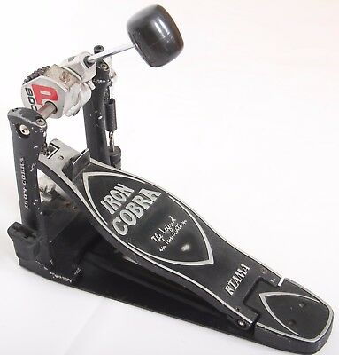 Tama Iron Cobra P900 Power Glide Chain Bass Drum Pedal Solid Footplate